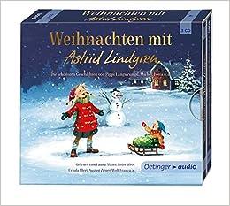 Hörbuch Weihnachten.Weihnachten Mit Astrid Lindgren 3 Cd Lesungen Amazon De Astrid