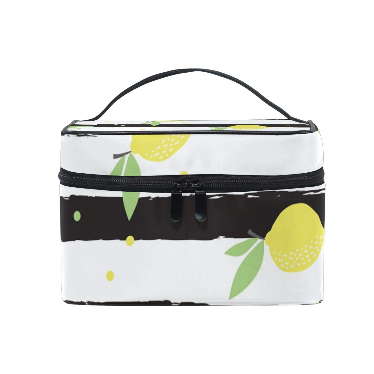 Yellow Lemon Travel Bag Portable Luggage Bags Duffle Bag Large Capacity Travel Organizer Bag