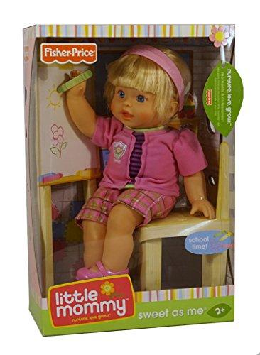 Little Mommy Sweet As Me Back to School Doll