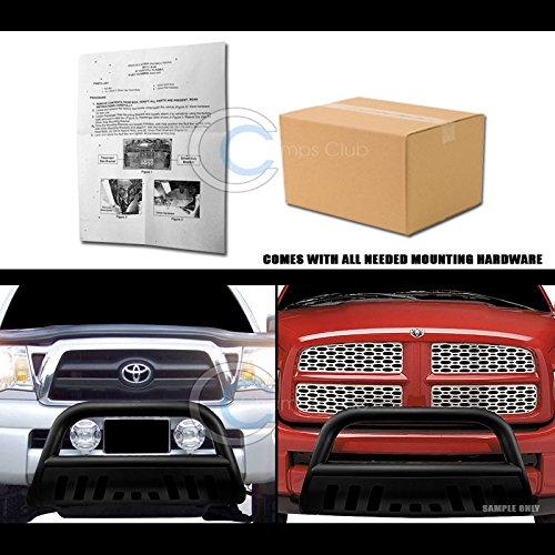 HS Power Matte Black Bull Bar Brush Bumper Grill Grille Guard 11-16 Durango//Grand Cherokee