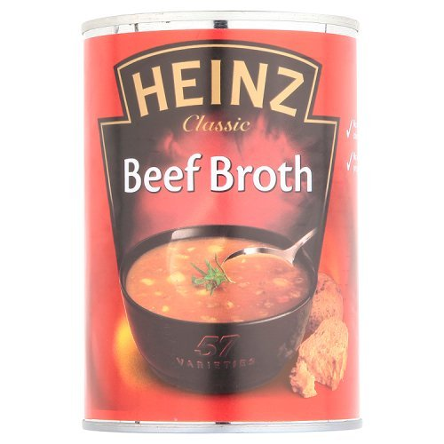 - Heinz Beef Broth Soup 400g