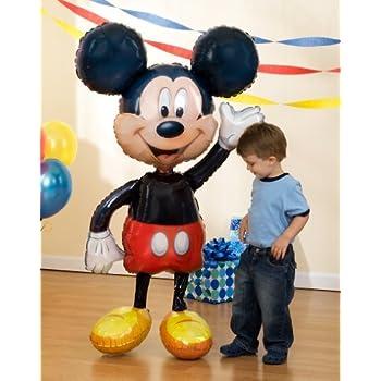 """Mickey Mouse Airwalker 52"""" Inch Jumbo Foil Mylar Birthday Balloon"""