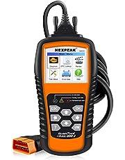 NEXPEAK Car Universal OBDii Scanner Automotive OBD2 NX501 Code Reader OBDII Diagnostic Car Engine Check Scanner Tool Car Vehicle Fault Detector - Orange