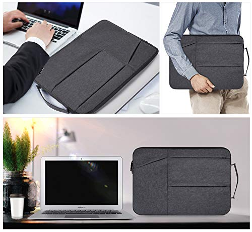 895521d30c81 imComor 11.6 12 Inch Laptop Sleeve Case Bag Carry Handle Pocket Fit Acer  R11 Chromebook, Samsung Chromebook 11.6, MacBook Air 11, Dell ASUS Lenovo  HP ...