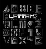Letters: Building an Alphabet with Art and Attitude: ABC... the Art and Poetry of the English Alphabet Explained in a Philosophical Verse of Rhythm an