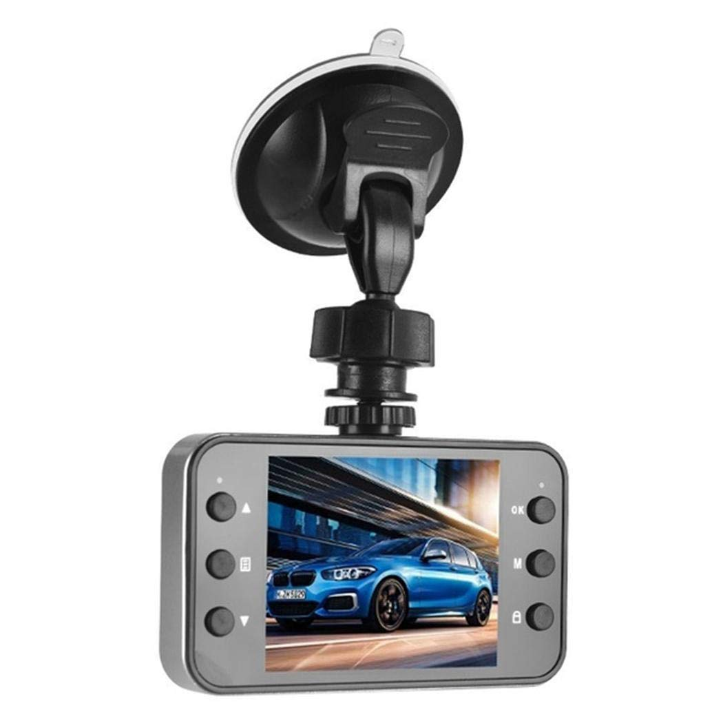 Queind Multi-Function HD Driving Recorder K6000 Super Wide-Angle Night Vision Car Driving Recorders
