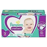 Pampers Cruisers Pañales Etapa 3, 120 Piezas