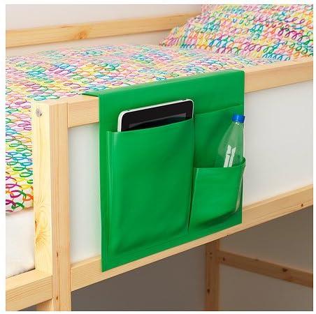 soluci/ón de almacenamiento inteligente que on our artisanti puede camas infantiles. talla 39 x 30 cm verde Cama bolsillo STICKAT
