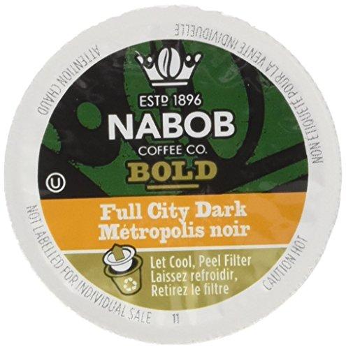 NABOB Full City Dark Coffee Single Serve Pods, 30 Pods, 292G