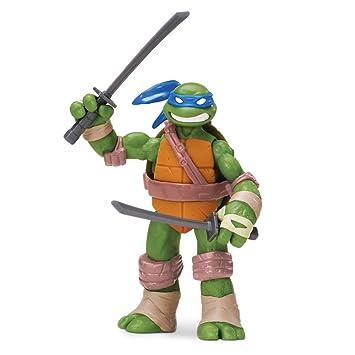 Tortugas Ninja - Figuras articuladas: Leonardo (Giochi Preziosi 90600)