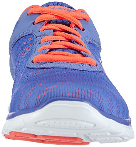 Skechers First Glance Running Womens Shoes Size Periwinkle Mesh/Pink Trim SS2lQVTSgX