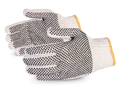 Pvc Dotted Cotton Glove - 5