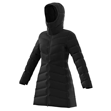 eb677bc9ddaed Image Unavailable. Image not available for. Color: adidas Outdoor Women's  Climawarm Hyperdry Nuvic Jacket Black Outerwear