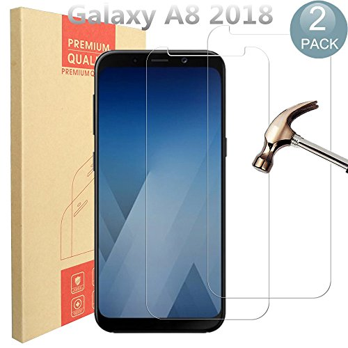 Tempered Glass Screen Protector for Samsung Galaxy A8 (Clear) - 4