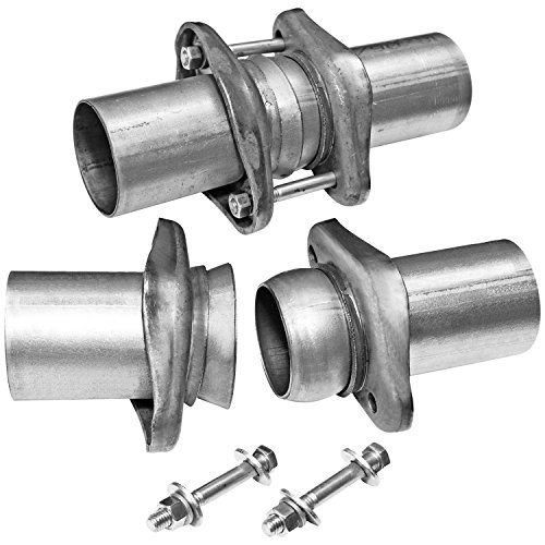 Flowmaster 15925 Header Collector Ball Flange Kit - 3.00 in. to 2.50 in. - Pair ()