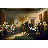 John Trumbull (Declaration of Independence) Art Poster Print 19 x 13in