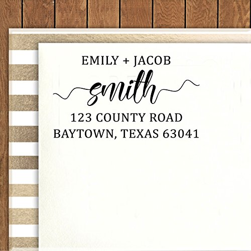 Printtoo Custom Save The Date Stamps Wedding Invitation Personalized Rubber Stamp Gift Idea -
