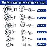 Stainless Steel Body Ear Piercing Tool Set Ear Nose