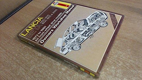 Lancia Beta: 1973 to 1980 (Owners Workshop Manual)