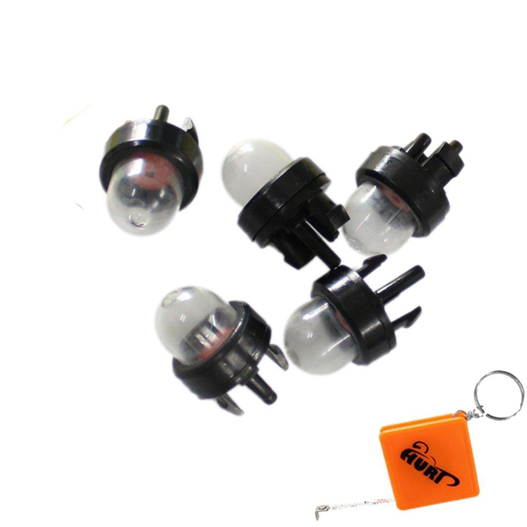 HURI 5× Fuel Primer Bulb for Ryobi RCS4040CA RCS3535CA RCS3335 Petrol Chainsaw Does not apply