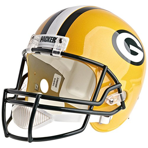 - Riddell Green Bay Packers Officially Licensed VSR4 Full Size Replica Football Helmet