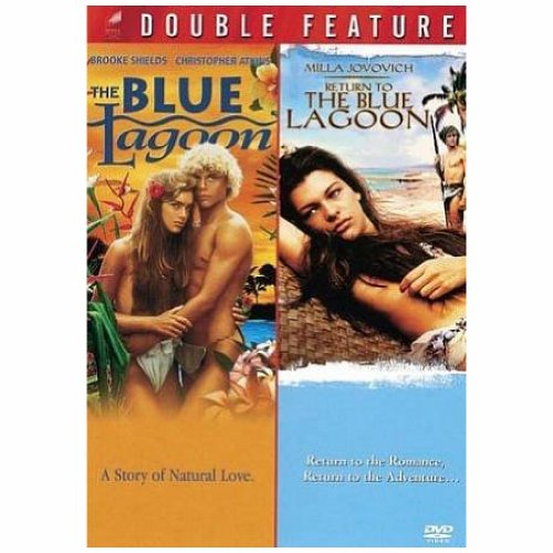 blue lagoon & return to the blue lagoon (2 dvd) dvd Italian Import