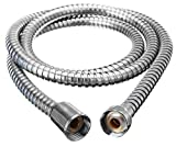 Description :Shower Head Hand Held Flexible Bathroom Shower Hose Stainless Pipe* Soft and comfortable shower hose features with high gloss, good tensile strength, comfortable hand feeling,high hardness and toughness, high-temperature and high-pressu...