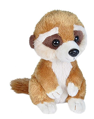 Stuffed Meerkat - Wild Republic Meerkat Plush, Stuffed Animal, Plush Toy, Gifts for Kids, Hug'Ems 7