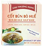 VV Foods Cot Bun bo Hue (Bun Bo Hue Soup Base), 10-Ounce Boxes (Pack of 4)