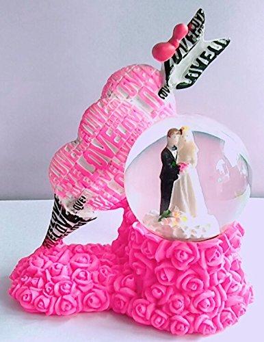 Valentines Day At Trader Rose >> Gayatri Trader Valentine Gift Lighting Snow Globe Heart Arrow