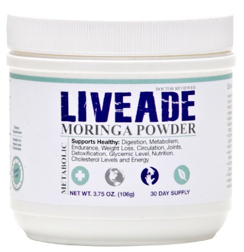 LIVEADE Moringa Blend Multi-Use Food Powder
