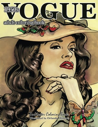 Pdf Crafts Vogue 1950s Adult Coloring Book: 50s Fashion Coloring Book for Adults (Coloring Books for Grownups) (Volume 64)