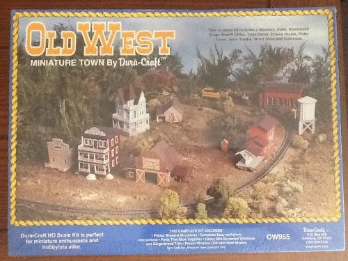 Old West Miniature Town by