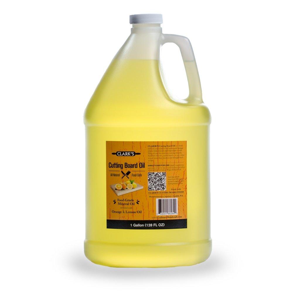 クラークのカッティングボードオイル(16oz) | Butcherブロックオイル&コンディショナー|食品グレードミネラルオイル One Gallon オレンジ FBA_2K-GDPS-NOIS B00JSD7SOQ One Gallon|Orange Lemon Scent Orange Lemon Scent One Gallon