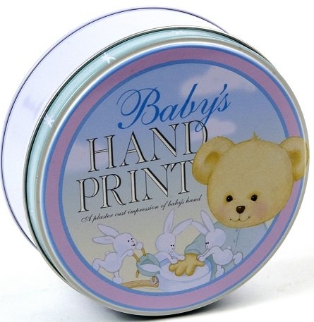 Milestone Collection Baby Hand Print Kit, Blue/Pink/Green. 5.5