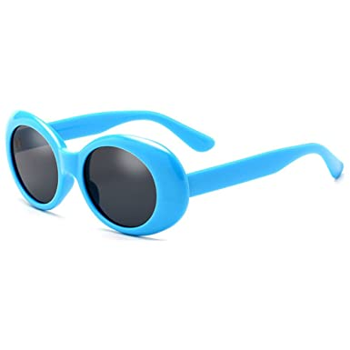 18009d8fa8e Deylay Oval Sunglasses Men Women Retro Style Round Glasses Color 5   Amazon.co.uk  Clothing