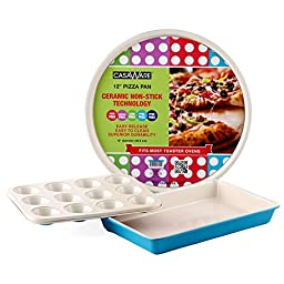 Toaster Oven Pan 3 Piece Set