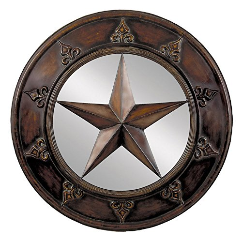 "picture of 32"" Star Plaque Mirror"