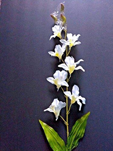 Artificial Fake Flowers Dendrobium Slik orchid stems weddings Slik floral flower arrangements Dendrobium Orchid Centerpieces