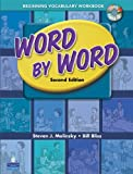 Word by Word Picture Dictionary with WordSongs Music CD Beginning Vocabulary Workbook