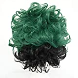 Anogol Free Hair Cap+Hero Cospaly Wig Synthetic