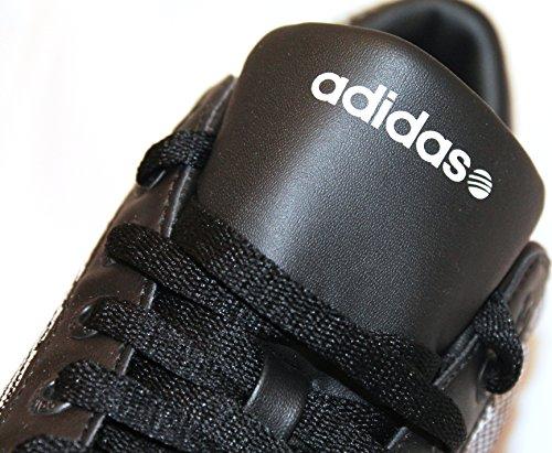 adidas - Zapatillas de Piel para hombre Varios Colores Black/Black/Run White 44