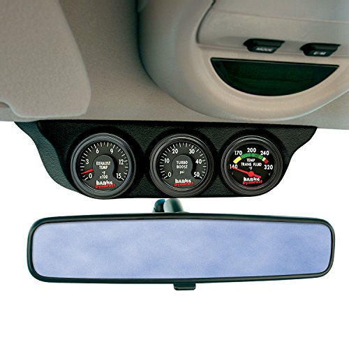 Banks Power 63361 Overhead Console Pod; 3 Gauge; by Banks Power (Image #1)