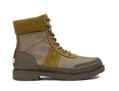 d826ceda47d Amazon.com | Hunter Insulated Waterproof Commando Boots Light Khaki ...