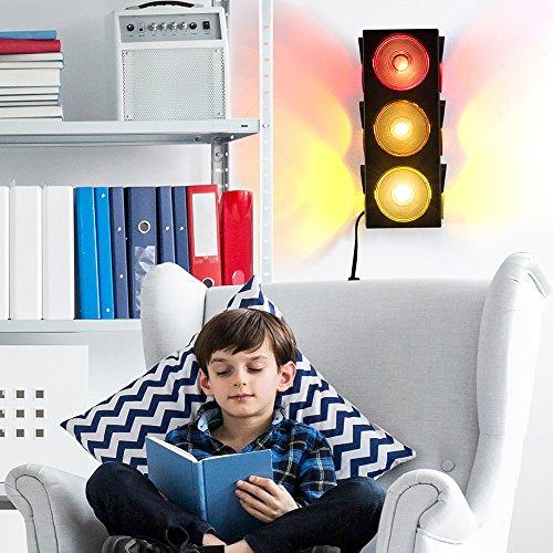 Kidsco Forum Novelties Traffic Light Lamp Plug In Blinking Triple