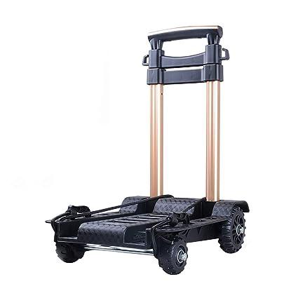 9cb06615958a Amazon.com: Hand Trucks Folding Trolley Home Shopping Cart Small ...
