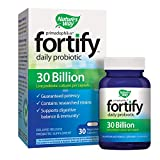 Nature's Way Primadophilus Fortify Daily Probiotic, 30 Billion Active Cultures, Acidophilus, Guaranteed Potency, Researched Strains, Delayed Release, 30 Vegetarian Capsules, Gluten-Free Review