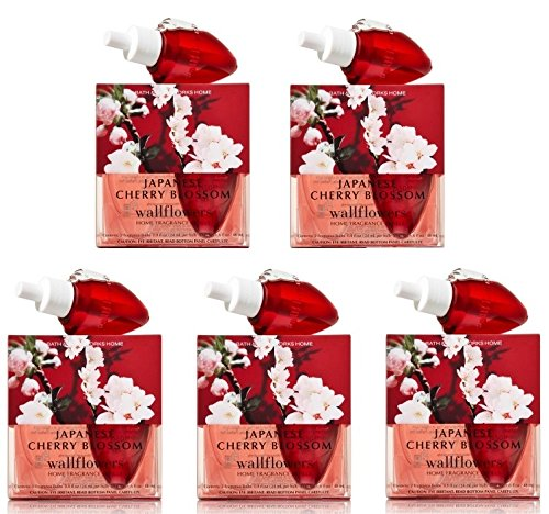 Japanese Cherry Blossom Wallflowers Lot of 10 Refills - Bath & Body Works by Bath & Body Works