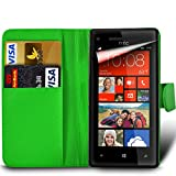 xiaomi red rice note - MobiBax Xiaomi Red Rice Note 4X - Protective Magnetic Pu Leather Wallet Flip Skin Case Book Cover In Green