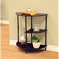 Frenchi Home Furnishing Multi Tiered End Table, Expresso